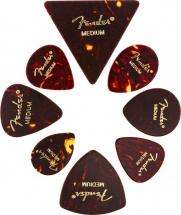 Fender All Shapes Celluloid Medley Tortoise Shell Medium (8)