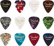 Fender 351 Shape Celluloid Medley Medium (12)