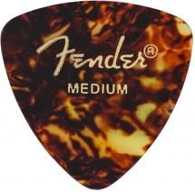 Fender Médiators Triange, Motif écaille, Medium, Par 12