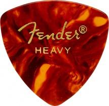 Fender Médiators Triange, Motif écaille, Heavy, Par 12