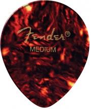 Fender Médiators Goute, Motif écaille, Medium, Par 12