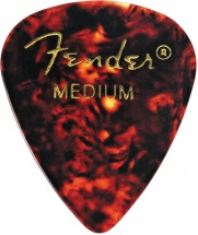 Fender Médiators Premium Forme Standard, Medium, Motif écaille,  Par 12