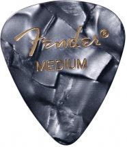 Fender Médiators Premium Forme Standard, Medium, Black Moto, Par 12