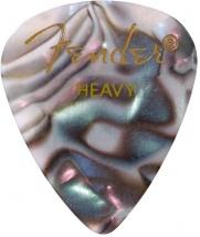 Fender Médiators Premium Forme Standard, Heavy, Abalone, Par 12