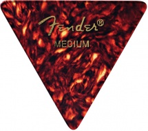 Fender Médiators Forme Triangle, Motif écaille, Medium, Par 12
