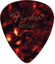 Fender Médiators Forme Standard, Motif écaille, Medium, Par 12