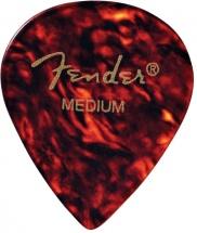 Fender Médiators Forme Jazz, Motif écaille, Medium, Par 12