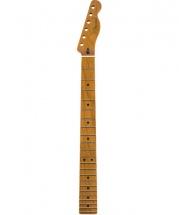 Fender Roasted Maple Telecaster Neck 22 Jumbo Frets 12 Maple Flat Oval Shape