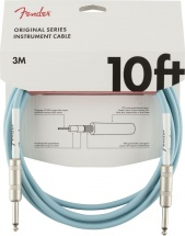 Fender Original Series Instrument Cable 10\' Daphne Blue