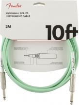 Fender Original Series Instrument Cable 10\' Surf Green