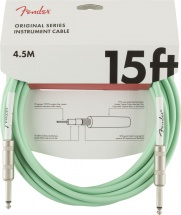 Fender Original Series Instrument Cable 15\' Surf Green