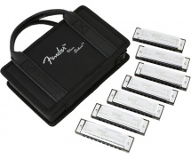 Fender Harmonica  Blues Deluxe   Pack De 7   Chrome