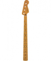 Fender Roasted Maple Precision Bass Neck 20 Medium Jumbo Frets 9.5 Maple C Shape
