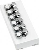 Fender Locking Tune Chrome - Jeu De 6