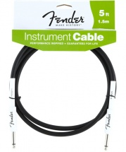Fender Cable Instrument Performance Series 1,5 M Noir