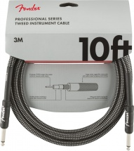 Fender Professional Series Instrument Cables 10\' Gray Tweed