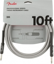 Fender Professional Series Instrument Cable 10\' White Tweed
