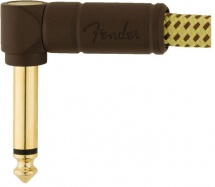 Fender Deluxe Series Instrument Cables Angle/angle 6 Tweed