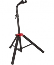 Fender Fender Deluxe Hanging Guitar Stand, Black/red