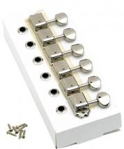 Fender American Vintage Stratocaster/telecaster Tuning Machines, Left-handed (nickel) (jeu De 6 Cordes)