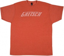 Gretsch Guitars Gretsch Logo T-shirt Heather Orange Xl