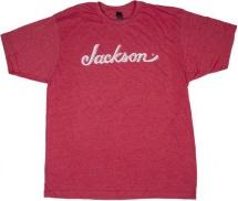 Jackson Guitars Jackson Logo T-shirt Heather Red L