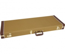Fender Fender Pro Series Stratocaster/telecaster Case - Tweed With Orange Plush Interior