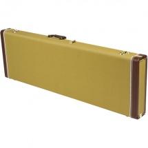 Fender Fender Pro Series Precision Bass/jazz Bass Case - Tweed With Orange Plush Interior