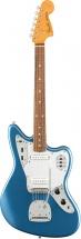 Fender 60s Jaguar Lacquer Pf Lake Placid Blue
