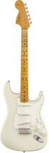 Fender Jimi Hendrix Voodoo Child Signature Stratocaster Journeyman Relic Maple Fingerboard Olympic White