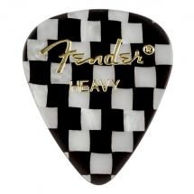 Fender Médiators Premium Forme Standard, Heavy, Checker, Par 12