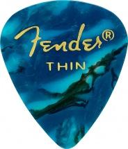 Fender 351 Shape Ocean Turquoise Thin