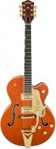 Gretsch G6120t Pro Player Nashville Bigsby Orange + Etui
