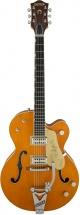 Gretsch G6120t-59ge Golden Era Nashville Bigsby Western Orange Stain + Etui