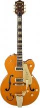 Gretsch G6120t-55ge Golden Era Nashville Bigsby Western Orange Stain + Etui