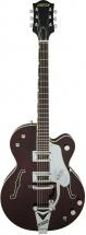 Gretsch G6119t-62ge Golden Era Tennessee Rose Bigsby Dark Cherry Stain + Etui
