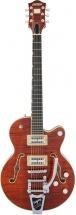Gretsch Guitars G6659tfm-bbn Pe Bkstr Jr Bbn Wc