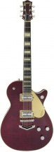 Gretsch Guitars G6228fm Players Edition Jet Bt With V-stoptail Flame Maple Ebony Fingerboard Dark Cherry Stain