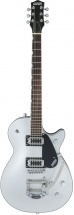 Gretsch Guitars G5230t Electromatic Jet Ft Single-cut With Bigsby Black Walnut Fingerboard Airline Silver