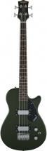 Gretsch Guitars G2220 Electromatic Junior Jet Bass Ii Short-scale Black Walnut Fingerboard 30.3 Scale Torino Green