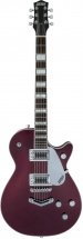 Gretsch Guitars G5220 Electromatic Jet Bt Single-cut With V-stoptail Black Walnut Fingerboard Dark Cherry Metallic