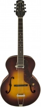 Gretsch Guitars G9555 New Yorker Archtop Guitar With Pickup Semi-gloss Vintage Sunburst