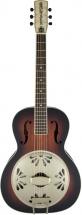Gretsch Guitars G9241 Alligator Biscuit Round-neck Resonator Guitar With Fishman Nashville Pickup 2-color Sunburst