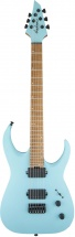 Jackson Guitars Usa Signature Misha Mansoor Juggernaut Ht6 Caramelized Flame Maple Fingerboard Satin Daphne Blue