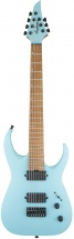 Jackson Guitars Usa Signature Misha Mansoor Juggernaut Ht7 Caramelized Flame Maple Fingerboard Satin Daphne Blue