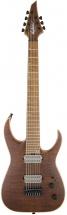 Jackson Guitars Usa Signature Misha Mansoor Juggernaut Ht7fm Caramelized Flame Maple Fingerboard Satin Amber Tiger E