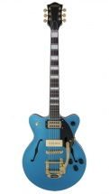 Gretsch Guitars G2655tg-p90 Ltd Streamliner Centerblock Jr P90 Bigsby Rw Riviera Blue Satin