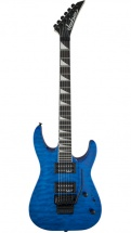 Jackson Guitars Js Series Dinky Arch Top Js32q Rw Transparent Blue