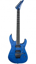 Jackson Pro Soloist Sl2q Mahogany Trans Blue