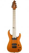Jackson Guitars Pro Series Dinky Dka8m Ht Mn Satin Orange Blaze